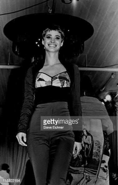 Christy Turlington during Dolce Gabbana Fashion Show 1990 in New York City New York United States