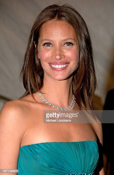 Christy Turlington during 'Poiret King of Fashion' Costume Institute Gala at The Metropolitan Museum of Art Departures at The Metropolitan Museum of...