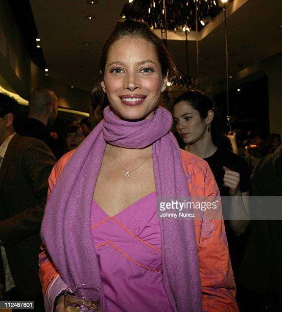 Christy Turlington during Puma Store Grand Opening on 14th Street in New York City's Meat Packing District at Puma Store in New York City New York...