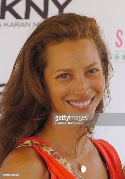 Christy Turlington during Super Saturday 7 Benefitting The Ovarian Cancer Research Fund at Nova's Ark Project in Water Mill New York United States