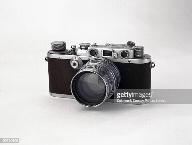 A chrome finish Leica IIIa fitted with a Xenon F15 50mm lens which it was claimed was 75% faster than the conventional Summar F2 lens This camera has...