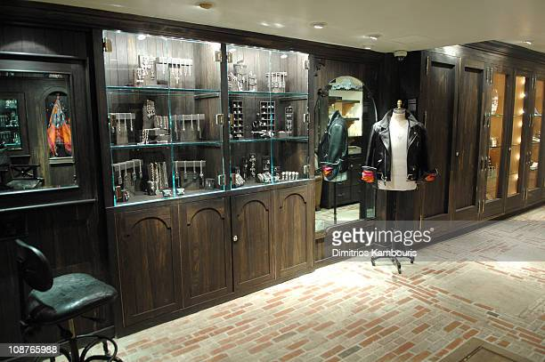 Chrome Hearts atmosphere during Chrome Hearts Mapplethorpe Party February 9 2007 at Chrome Hearts Flag Ship Store in New York City New York United...