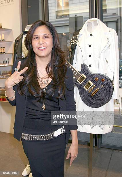 Chrome Hearts designer Laurie Lynn Stark during Chrome Hearts Press Event January 26 2006 at Colette Store in Paris France