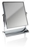 Chrome vanity / face mirror