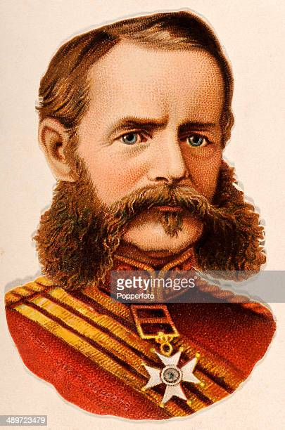 A chromolithograph of Field Marshal Frederick Roberts 1st Earl Roberts Commander in Chief of the British Forces published in London circa 1880