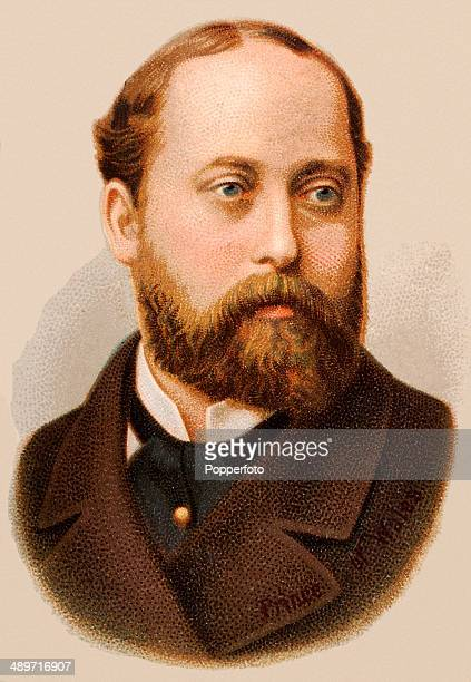 A chromolithograph of The Prince of Wales later King Edward VII published in London circa 1880