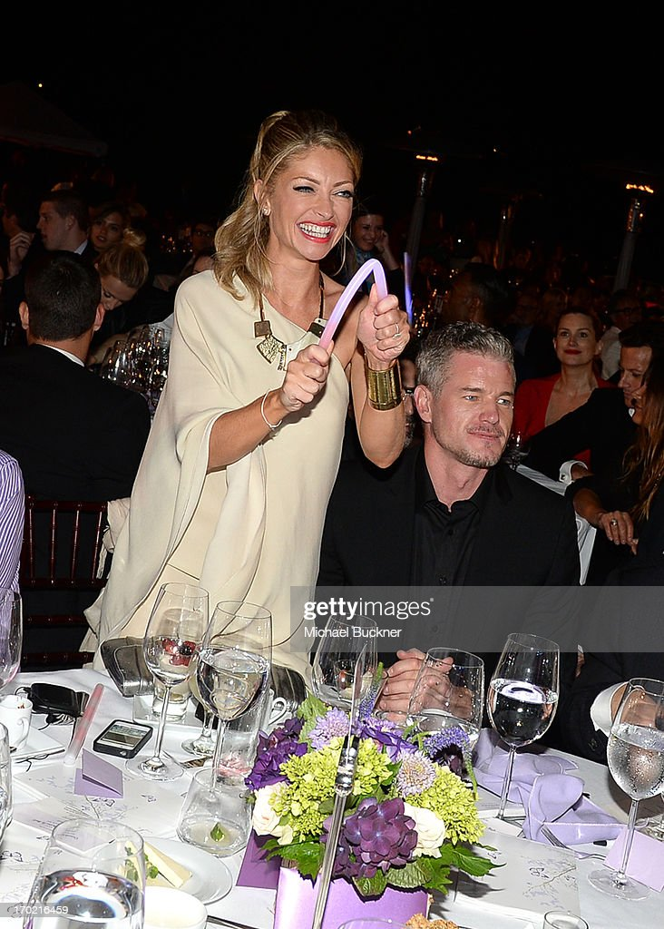 Chrysalis Co-Chair Rebecca Gayheart-Dane (L) and Eric Dane attend the 12th Annual Chrysalis Butterfly Ball on June 8, 2013 in Los Angeles, California.