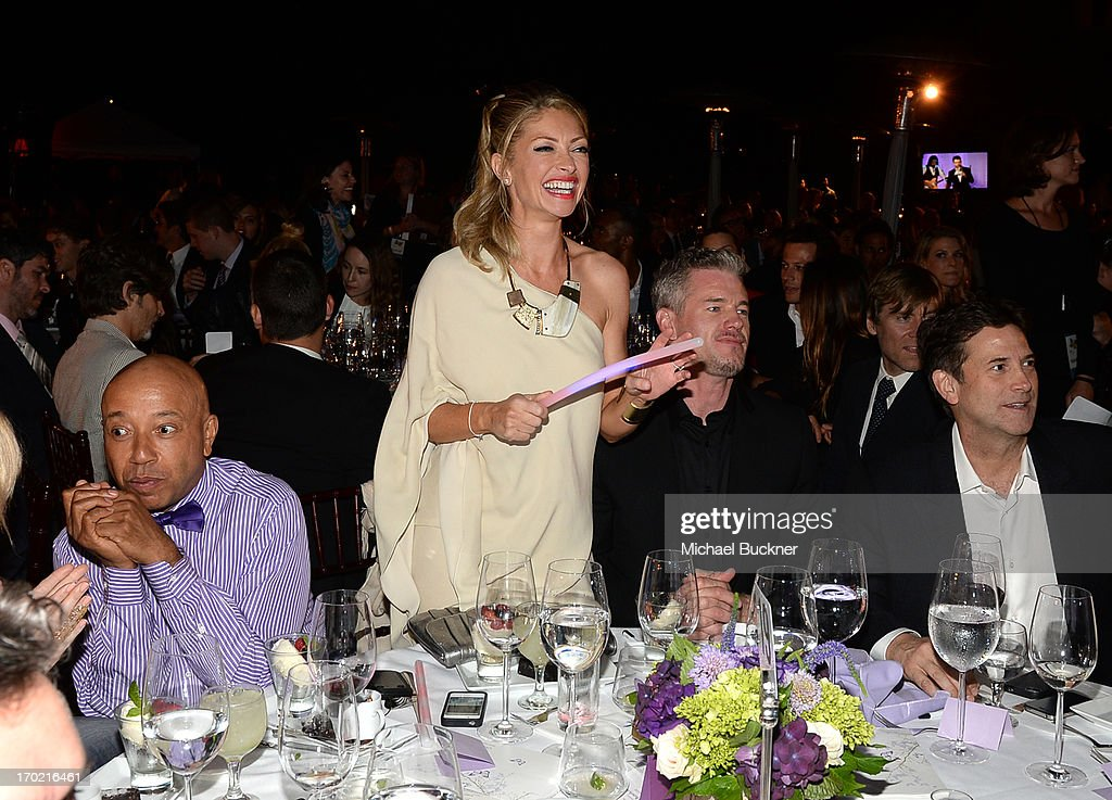 Chrysalis Co-Chair Rebecca Gayheart-Dane (C) attends the 12th Annual Chrysalis Butterfly Ball on June 8, 2013 in Los Angeles, California.