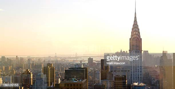 Chrysler Building and New York City cityscape