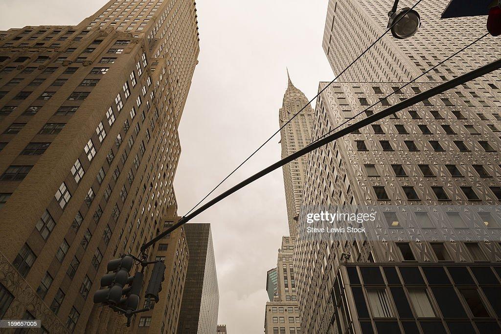 Chrysler building, daytime. : Stock Photo