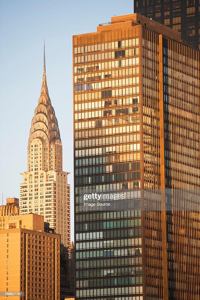 Chrysler Building, Manhattan, New York City : Stock Photo