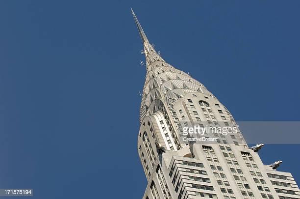 Edificio Chrysler, la ciudad de Nueva York