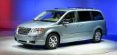 Chrysler Group's new 2008 Toen Country minivan is introduced to the media at the 2007 North American International Auto Show January 7 2007 in...