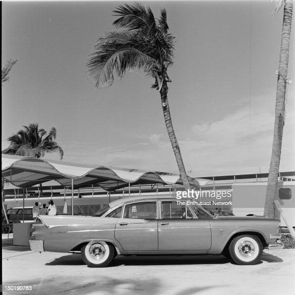 1958 Chrysler Products Miami Pictures Getty Images