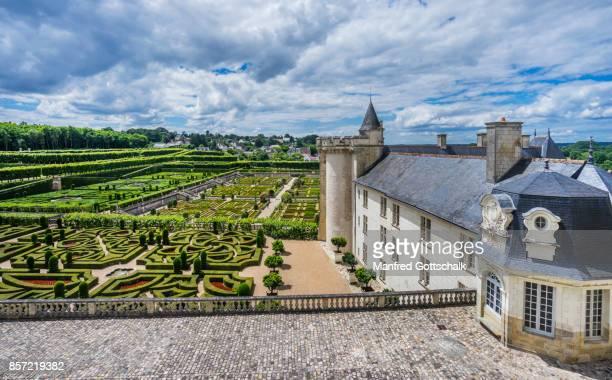 Château de Villandry ornamental gardens