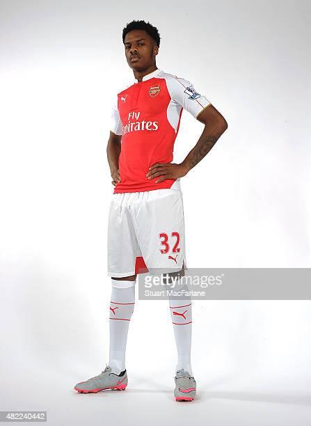 Chuba Akpom of Arsenal at Emirates Stadium on July 28 2015 in London England