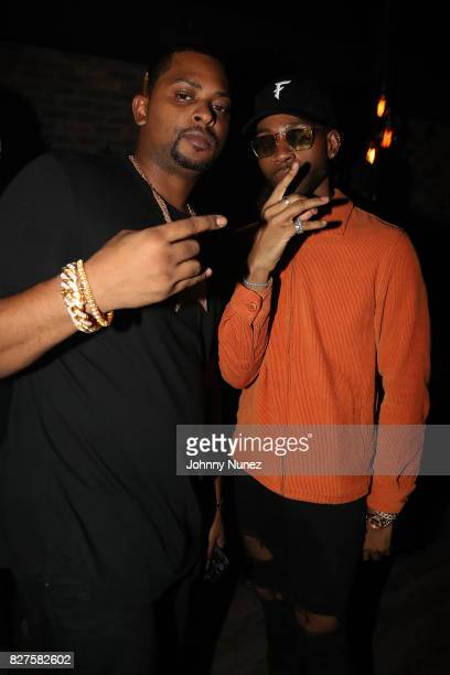 OVO Chubbs and PARTYNEXTDOOR attend the Official OVO Fest After Party In Toronto For Caribana 2017 on August 7 2017 in Toronto Canada