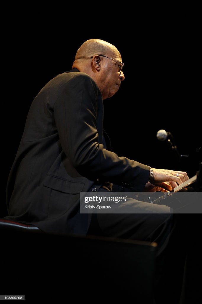 <a gi-track='captionPersonalityLinkClicked' href=/galleries/search?phrase=Chucho+Valdes&family=editorial&specificpeople=2107206 ng-click='$event.stopPropagation()'>Chucho Valdes</a> performs onstage during the Jazz A La Villette Festival at Grande Halle de La Villette on September 7, 2010 in Paris, France.