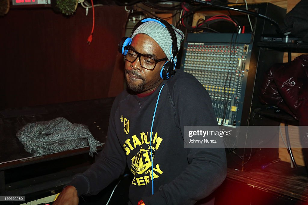 DJ Chuck Barrett Barry Mullineaux's Birthday Party at Greenhouse on January 17, 2013 in New York City.