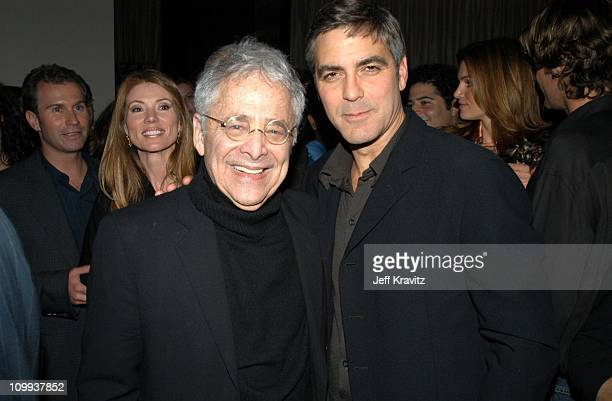 Chuck Barris and George Clooney during Confessions of a Dangerous Mind After Party at The W Hotel in Westwood CA United States