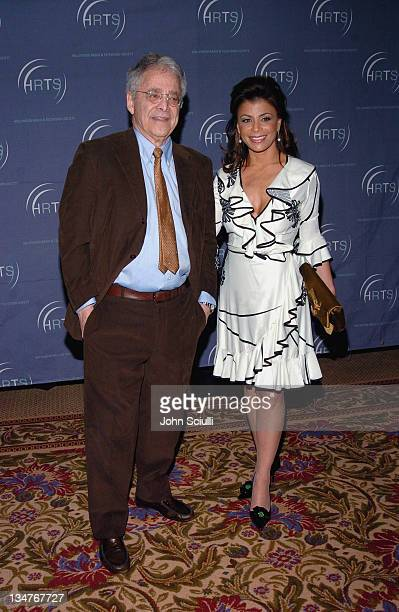 Chuck Barris and Paula Abdul during Hollywood Radio and Television Society Newsmaker Luncheon at Beverly Hilton Hotel in Beverly Hills California...