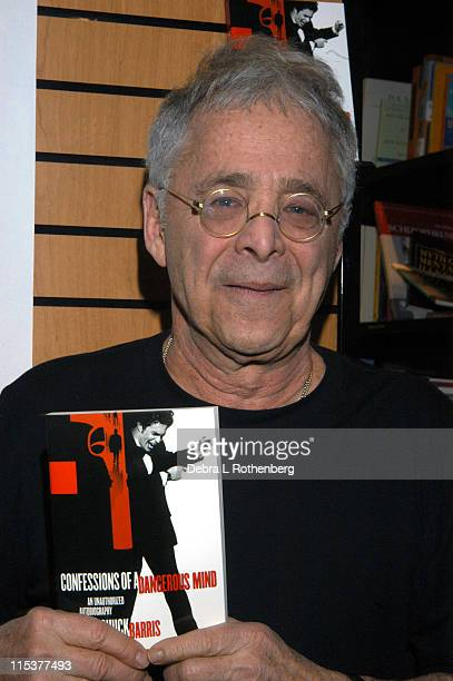 Chuck Barris during Chuck Barris in store appearance promoting his book 'Confessions of a Dangerous Mind' at Astor Place Barnes and Noble in New York...