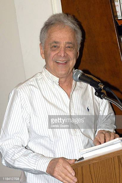 Chuck Barris during Chuck Barris Promotes His Book 'You and Me Babe' at Barnes Noble in New York City August 11 2005 at Astor Place in New York City...