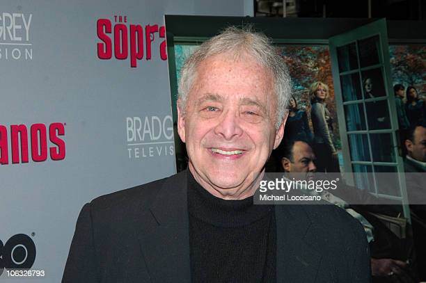 Chuck Barris during 'The Sopranos' Sixth Season New York City Premiere Arrivals at MoMA 53rd Street in New York City New York United States