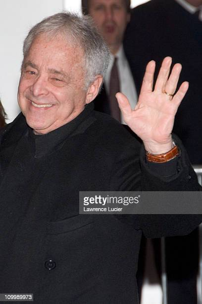 Chuck Barris during The Sopranos Sixth Season New York City Premiere Outside Arrivals at Museum of Modern Art in New York City New York United States