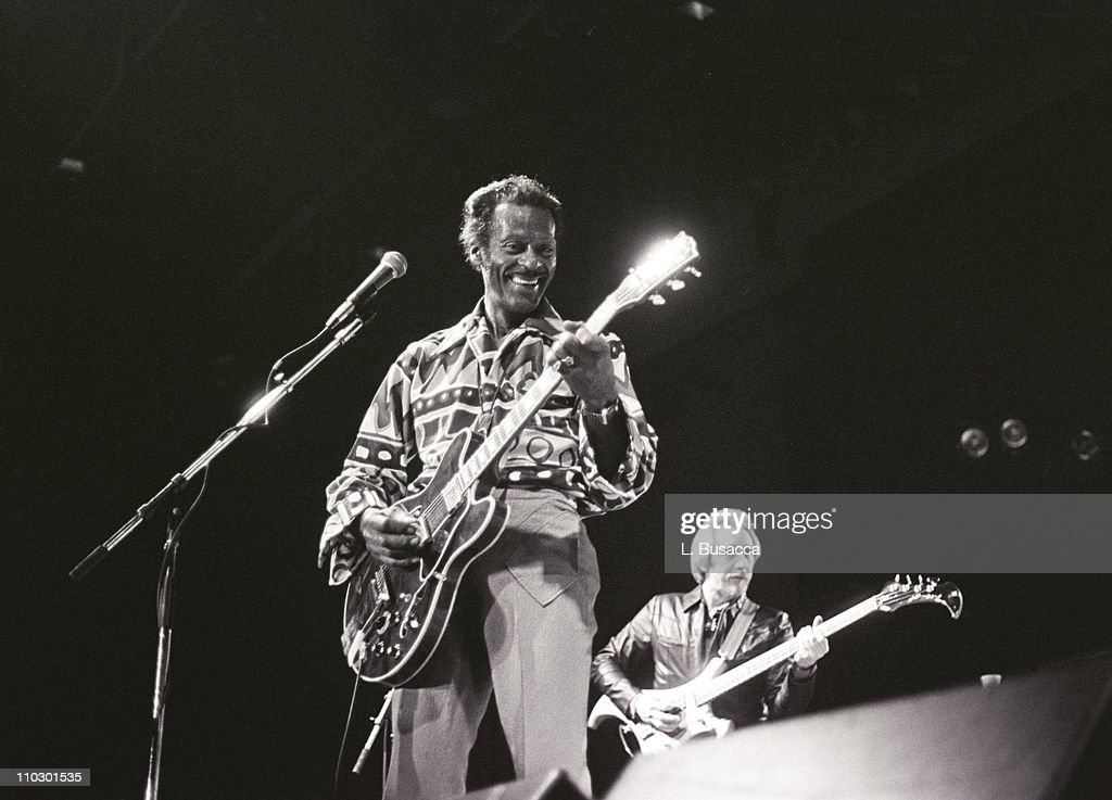 Chuck Berry in Concert at Madison Square Garden Photos and Images