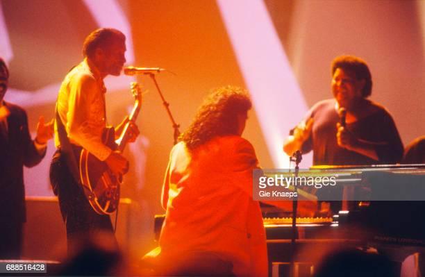 Chuck Berry Little Richard Chubby Checker Diamond Awards Festival Sportpaleis Antwerpen Belgium