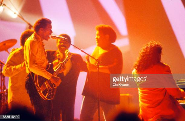 Chuck Berry Lloyd Price Chubby Checker Little Richard Diamond Awards Festival Sportpaleis Antwerpen Belgium