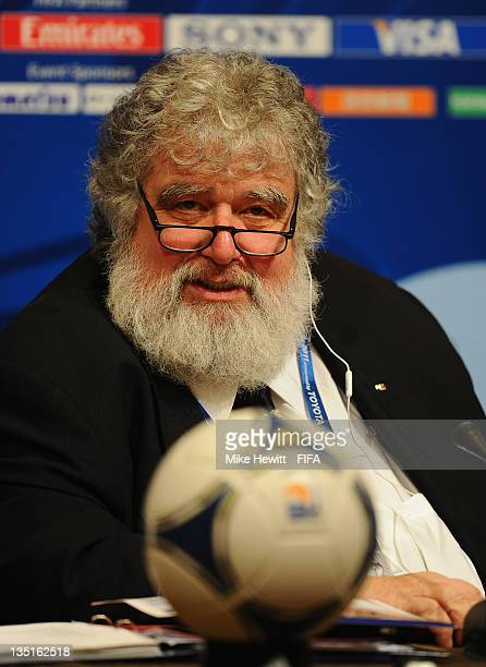 Chuck Blazer Chairman of the Organising Committee for the FIFA Club World Cup during the FIFA Club World Cup Organising Committee Press Conference at...