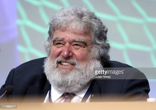 Chuck Blazer FIFA member looks on before the 61st FIFA Congress at Hallenstadion on June 1 2011 in Zurich Switzerland