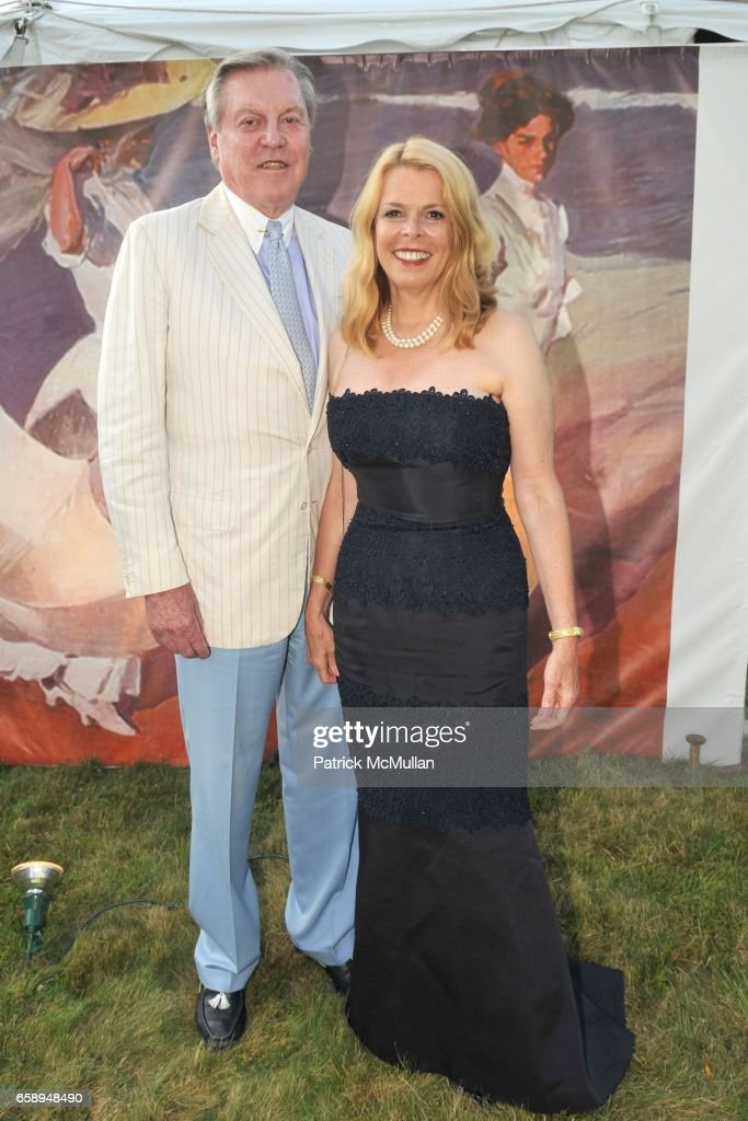 Chuck Brunie and Betsy McCaughey Ross attend 51st Annual SOUTHAMPTON HOSPITAL Summer Party at Wickapogue Road on August 1, 2009 in Southampton, NY.