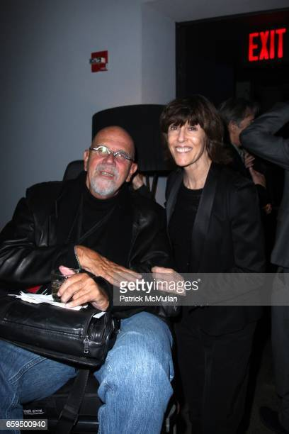 Chuck Close and Nora Ephron attend THE NEW YORKER FESTIVAL PARTY at Cooper Square Hotel on October 17 2009 in New York City