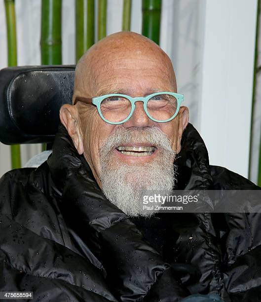 Chuck Close attends the 2015 Museum of Modern Art Party In The Garden and special salute to David Rockefeller on his 100th Birthday at Museum of...