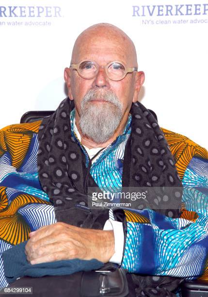 Chuck Close attends the 2017 Riverkeeper Fishermen's Ball at Pier Sixty at Chelsea Piers on May 17 2017 in New York City