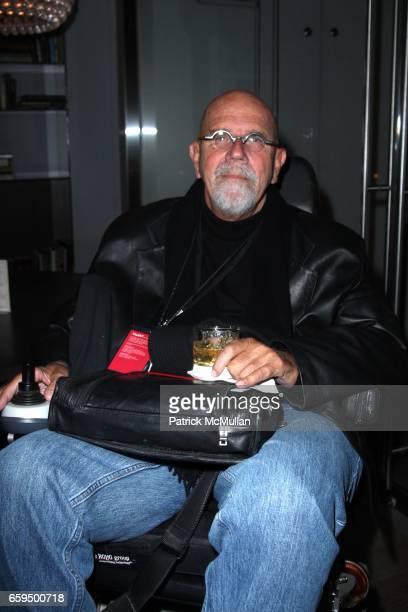 Chuck Close attends THE NEW YORKER FESTIVAL PARTY at Cooper Square Hotel on October 17 2009 in New York City
