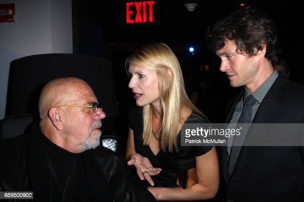Chuck Close Claire Danes and Hugh Dancy attend THE NEW YORKER FESTIVAL PARTY at Cooper Square Hotel on October 17 2009 in New York City