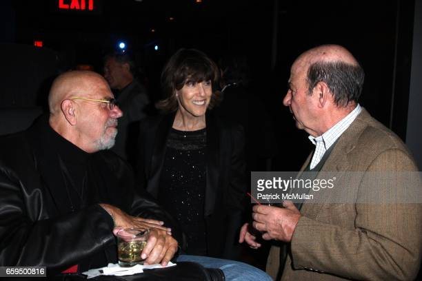 Chuck Close Nora Ephron and Calvin Trillin attend THE NEW YORKER FESTIVAL PARTY at Cooper Square Hotel on October 17 2009 in New York City