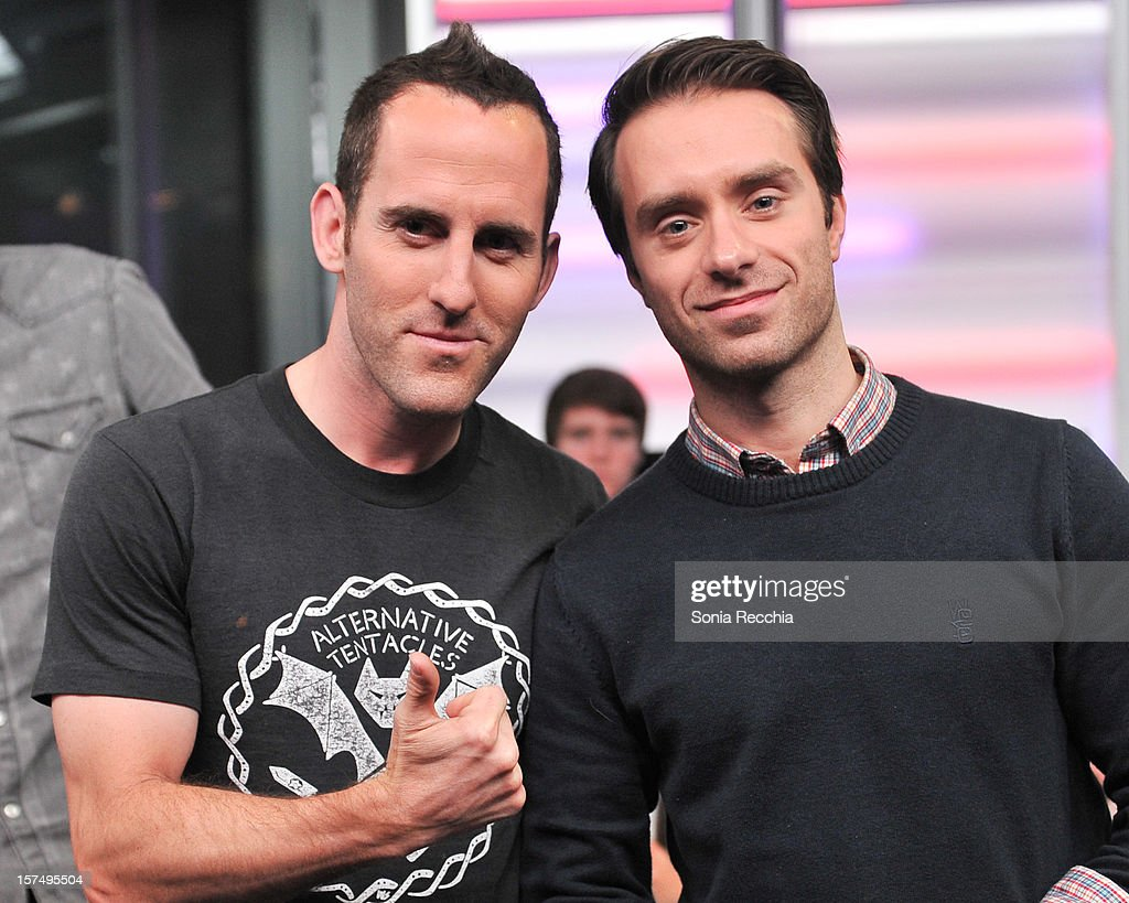 <a gi-track='captionPersonalityLinkClicked' href=/galleries/search?phrase=Chuck+Comeau&family=editorial&specificpeople=215359 ng-click='$event.stopPropagation()'>Chuck Comeau</a> and <a gi-track='captionPersonalityLinkClicked' href=/galleries/search?phrase=Sebastien+Lefebvre&family=editorial&specificpeople=211614 ng-click='$event.stopPropagation()'>Sebastien Lefebvre</a> attend Simple Plan On New.Music.Live attends at MuchMusic Headquarters on December 3, 2012 in Toronto, Canada.