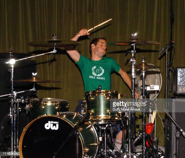 Chuck Comeau during Simple Plan Album Release Party for 'Still Not Getting Any' October 27 2004 at Hiro Ballroom in New York City New York United...