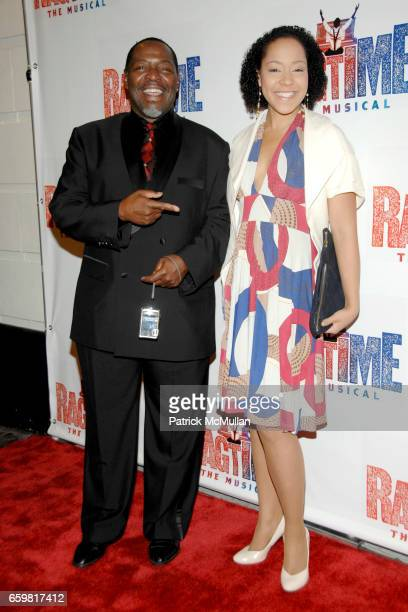Chuck Cooper and Lili Cooper attend Opening Night of RAGTIME The Musical at Neil Simon Theatre on November 15 2009 in New York City