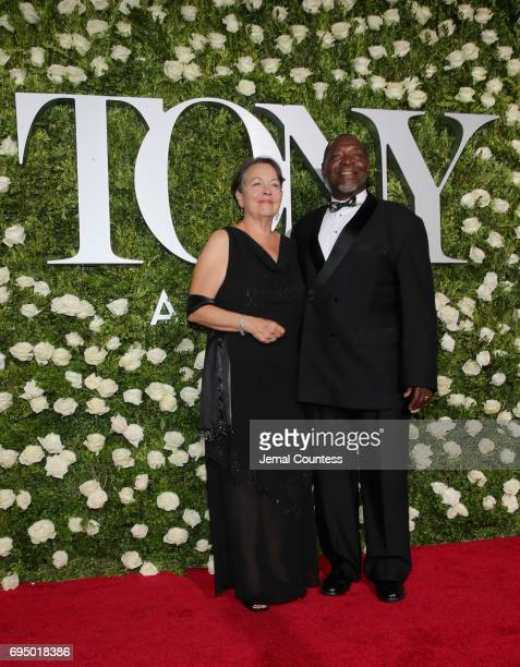 Chuck Cooper attends the 2017 Tony Awards at Radio City Music Hall on June 11 2017 in New York City