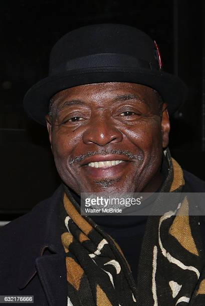 Chuck Cooper attends the Manhattan Theatre Club's Broadway debut of August Wilson's 'Jitney' at the Samuel J Friedman Theatre on January 19 2017 in...