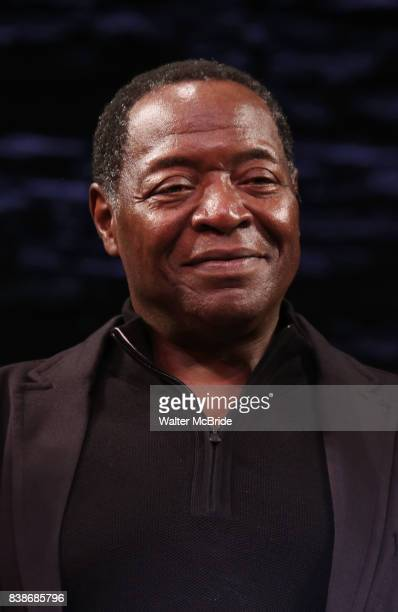 Chuck Cooper during the Broadway Opening Night performance Curtain Call for 'Prince of Broadway' at the Samuel J Friedman Theatre on August 24 2017...