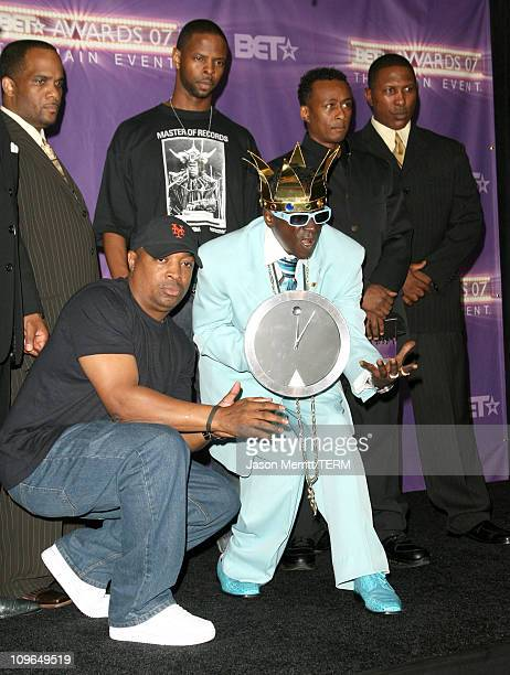 Chuck D and Flavor Flav of Public Enemy performers