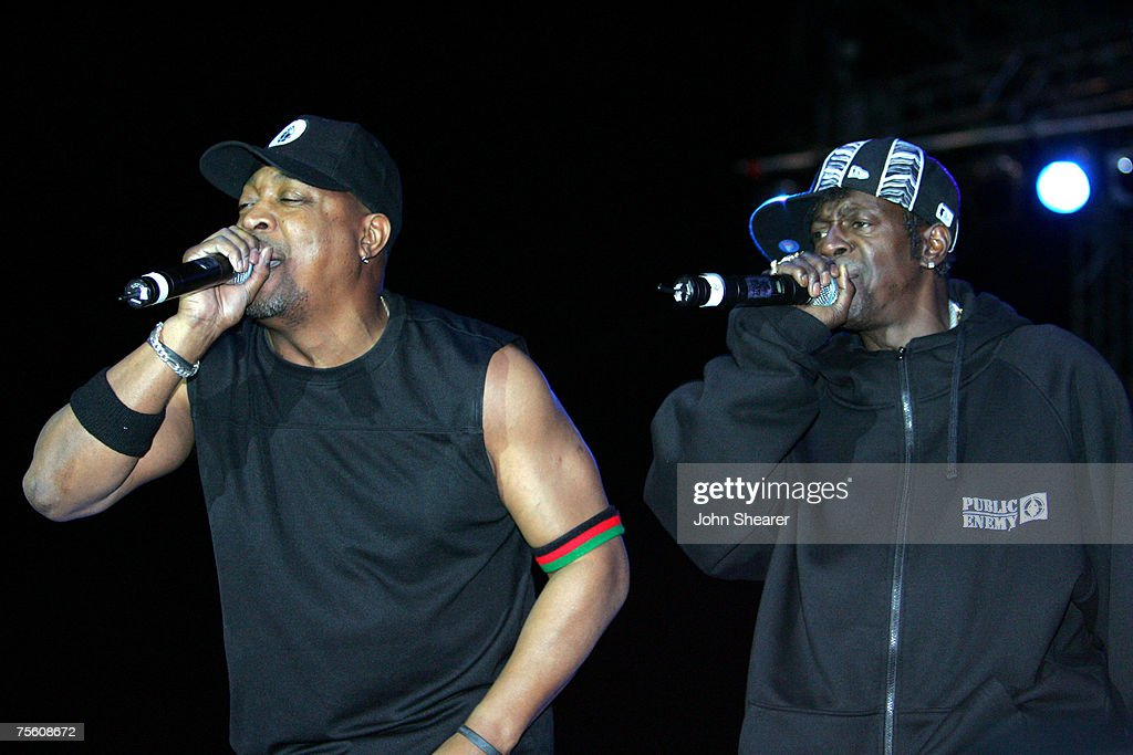 Chuck D and Flavor Flav of Public Enemy