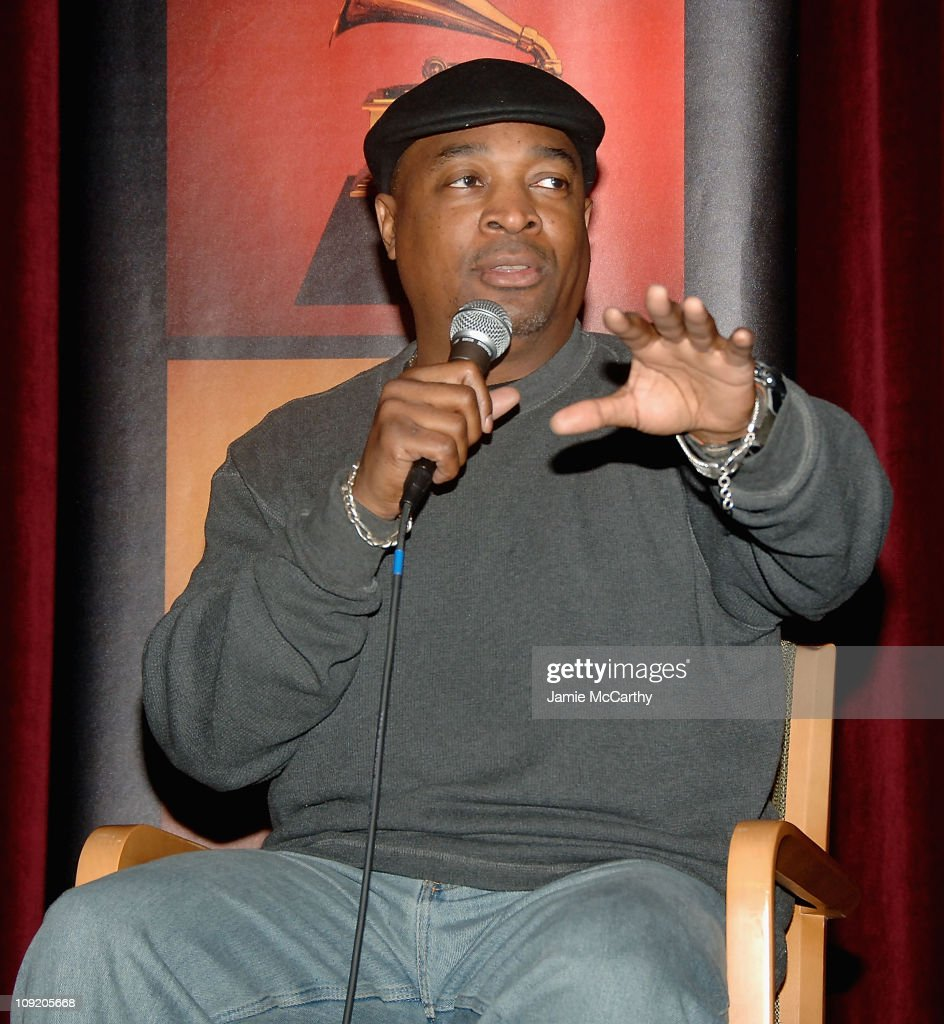 Chuck D of Public Enemy attends the Recording Academy Private Industry Screening of 'Public Enemy: Welcome to the Terrordome' on December 21, 2007 at the Directors Guild of America in New York City.